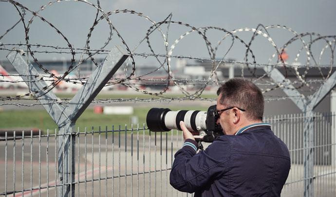 Treffpunkt für Hamburgs Spotter
